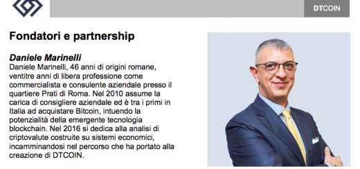 Daniele Marinelli DT Coin
